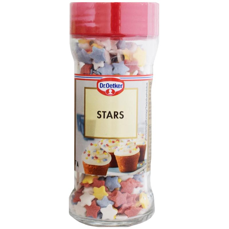 "Koristerakeet ""Stars"" 40g - 38% alennus"