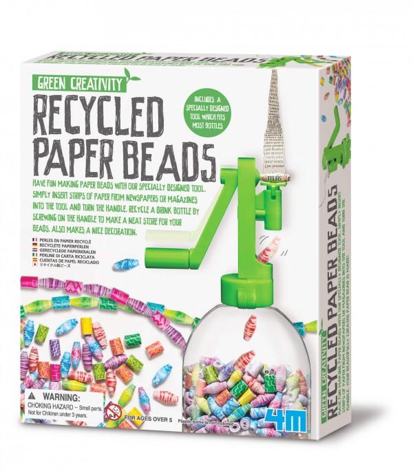 4M - Green Creativity - Gör pärlor av återvunnet papper