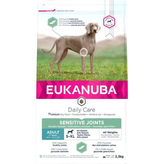 Eukanuba Daily Care Adult Sensitive Joints All Breeds (2,3 kg)