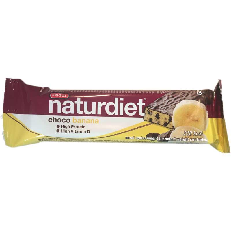 Naturdiet-patukka, Choco Banana 58g - 50% alennus