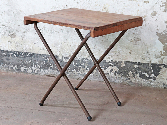 Small Vintage Desk - Home Working Brown