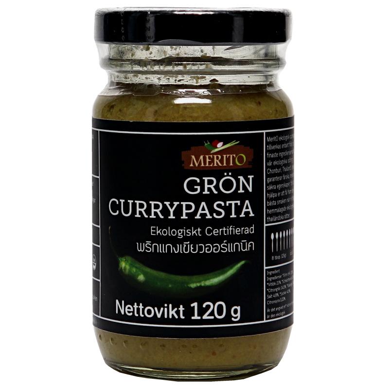 Grön Currypasta Eko - 26% rabatt