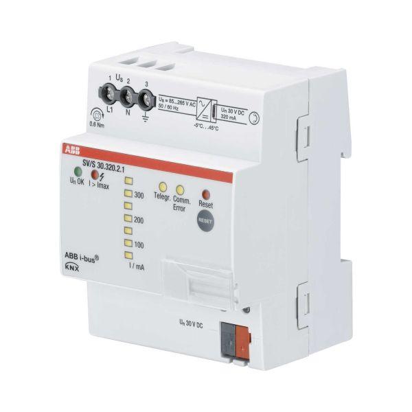 ABB 2CDG110145R0011 Virtalähde diagnostiikalla 320 mA, LED-näyttö etupaneelissa