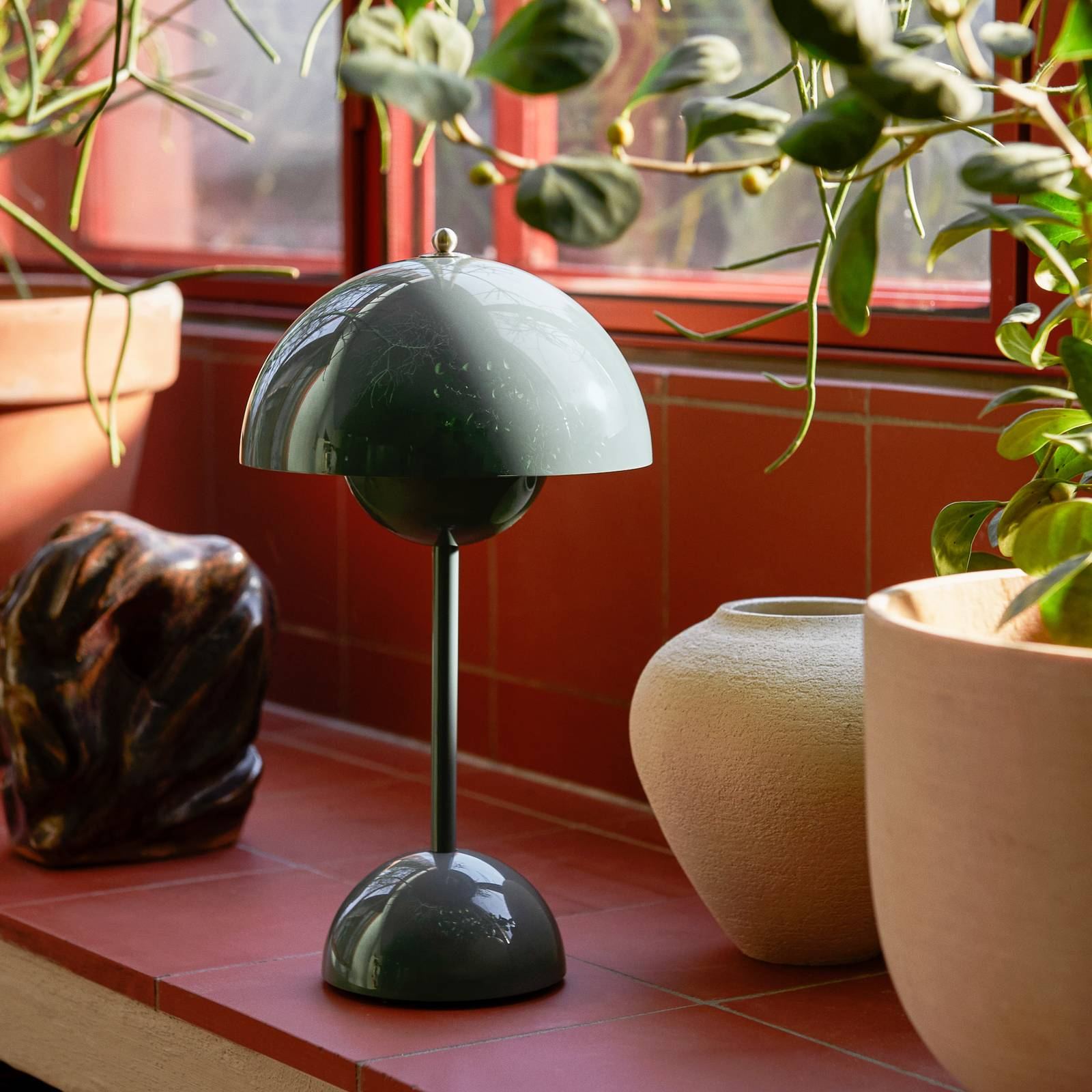 &Tradition Flowerpot VP9 -LED-pöytälamppu, sininen