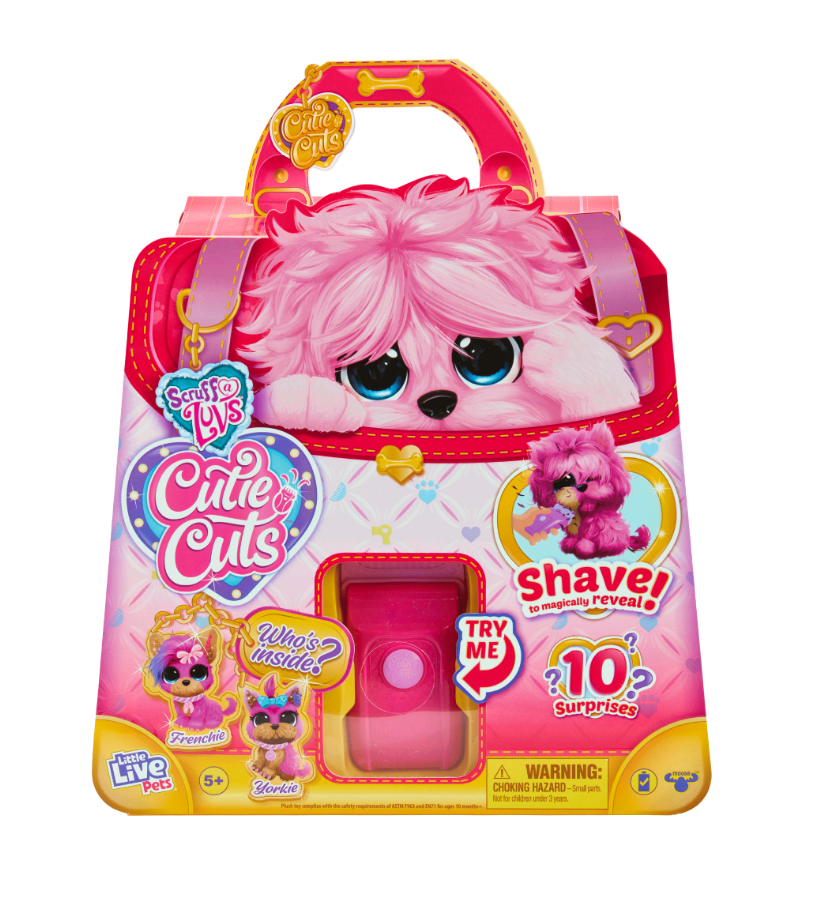 Scruff-a-Luvs - Cutie Cut Pink (30249)
