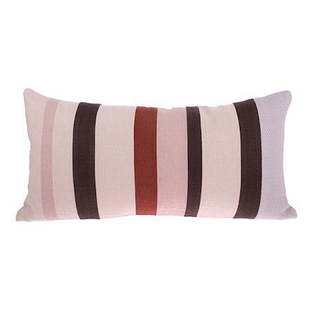 Linen Striped Cushion D 70x35 cm