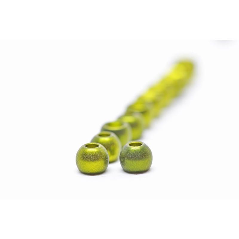 FF Brass Beads 4mm - Mat.Metallic Olive FutureFly