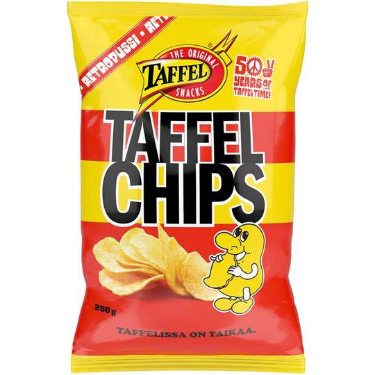 Chips 250g - 40% rabatt