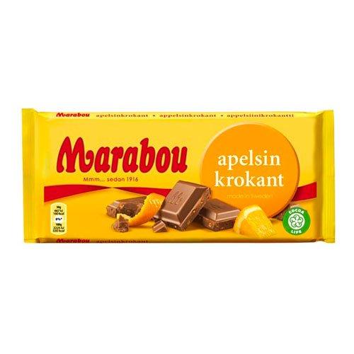 Marabou Apelsinkrokant Chokladkaka - 200 gram