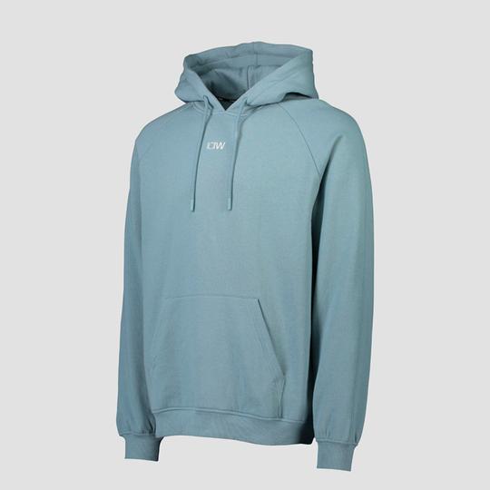 Essential Hoodie Loose Fit, Pale Blue