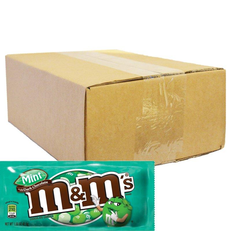 "Hel Låda Godis ""Mint & Dark Chocolate"" 24 x 46g - 45% rabatt"