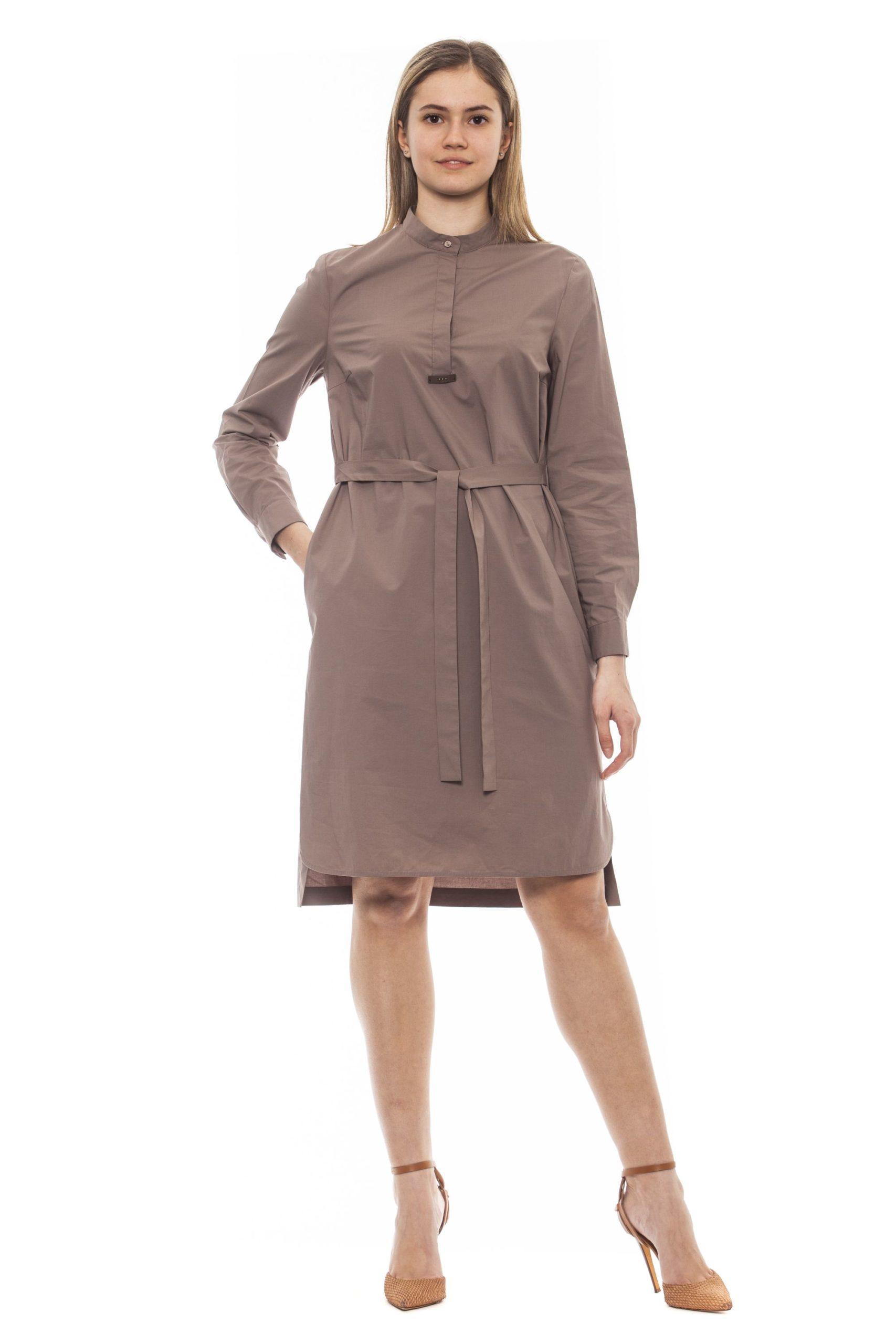 Peserico Women's Dress Beige PE1381607 - IT42 | S