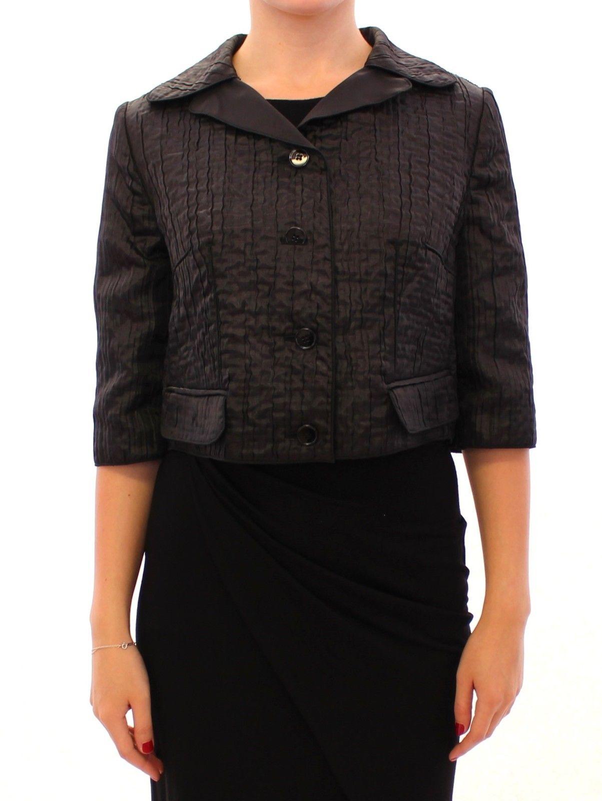 Dolce & Gabbana Women's Short Bolero Shrug Jacket Black GSS11369 - IT40|S