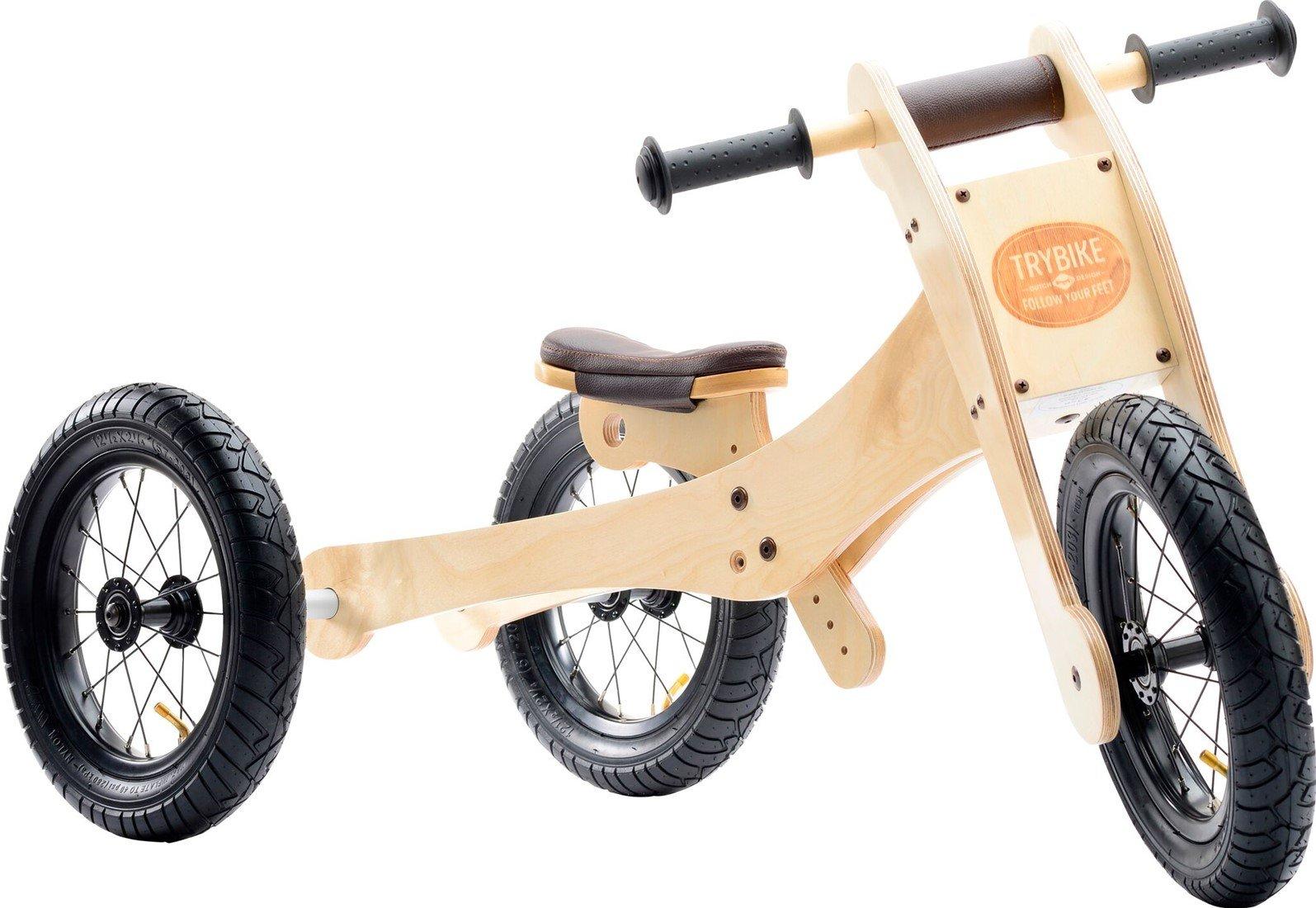 Trybike - 4-in-1 Wood trybike