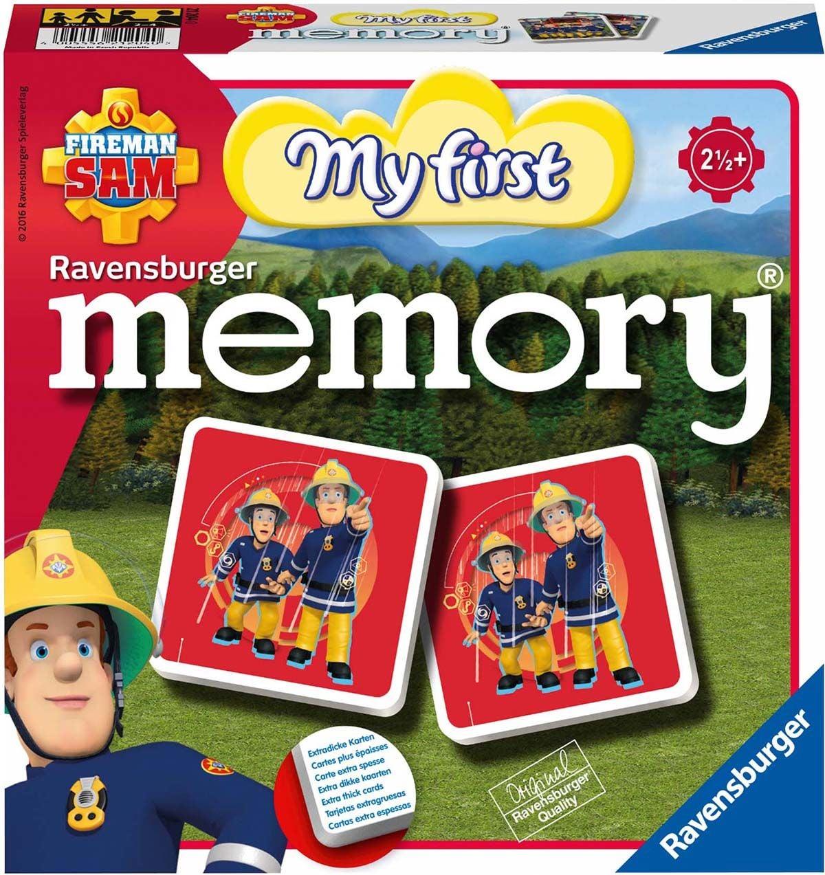 Ravensburger Memory® Mitt Första Memory, Brandman Sam