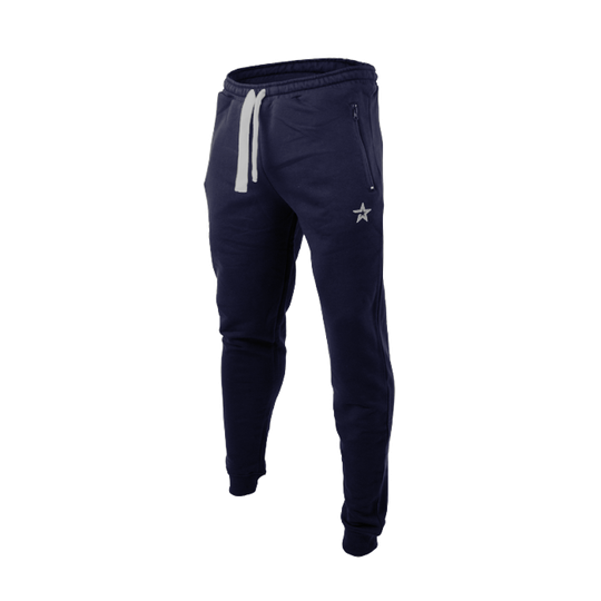 Star Nutrition Tapered Pants, Navy Blue
