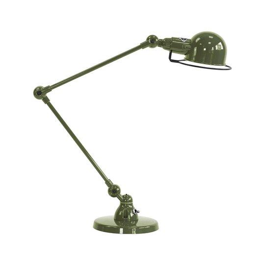 Jieldé Signal SI333 bordlampe med fot, olivengrønn