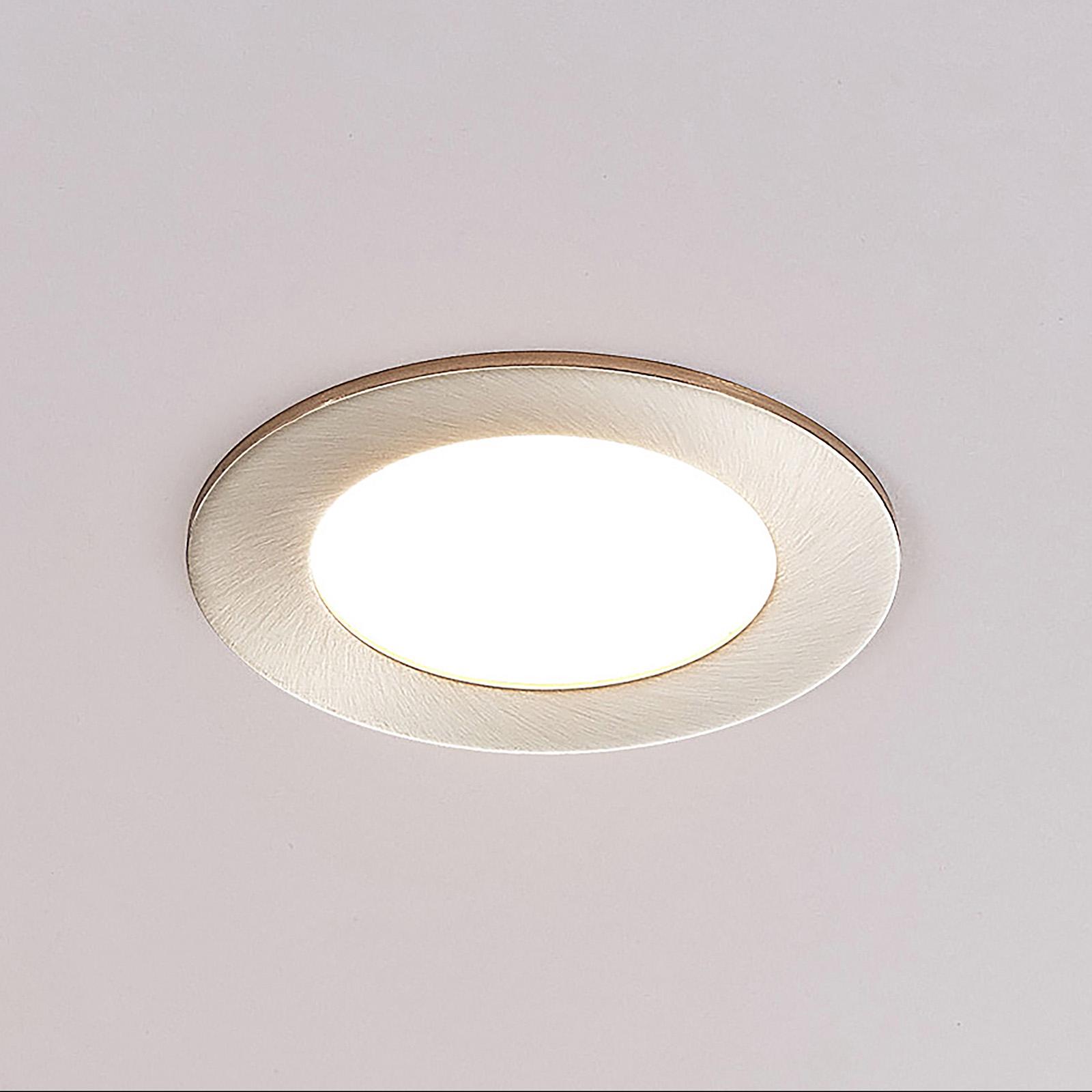 ELC Jupiter LED-uppovalaisin, 3 kpl, nikkeli