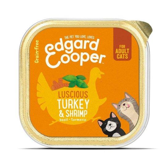 Edgard & Cooper Cat Kalkon & Räka 85 g