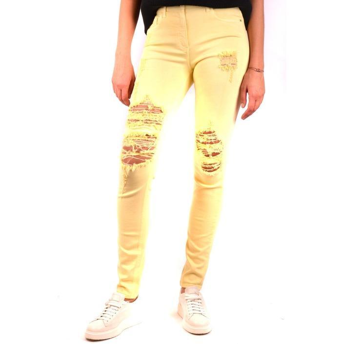 Elisabetta Franchi Women's Jeans Yellow 163948 - yellow 26