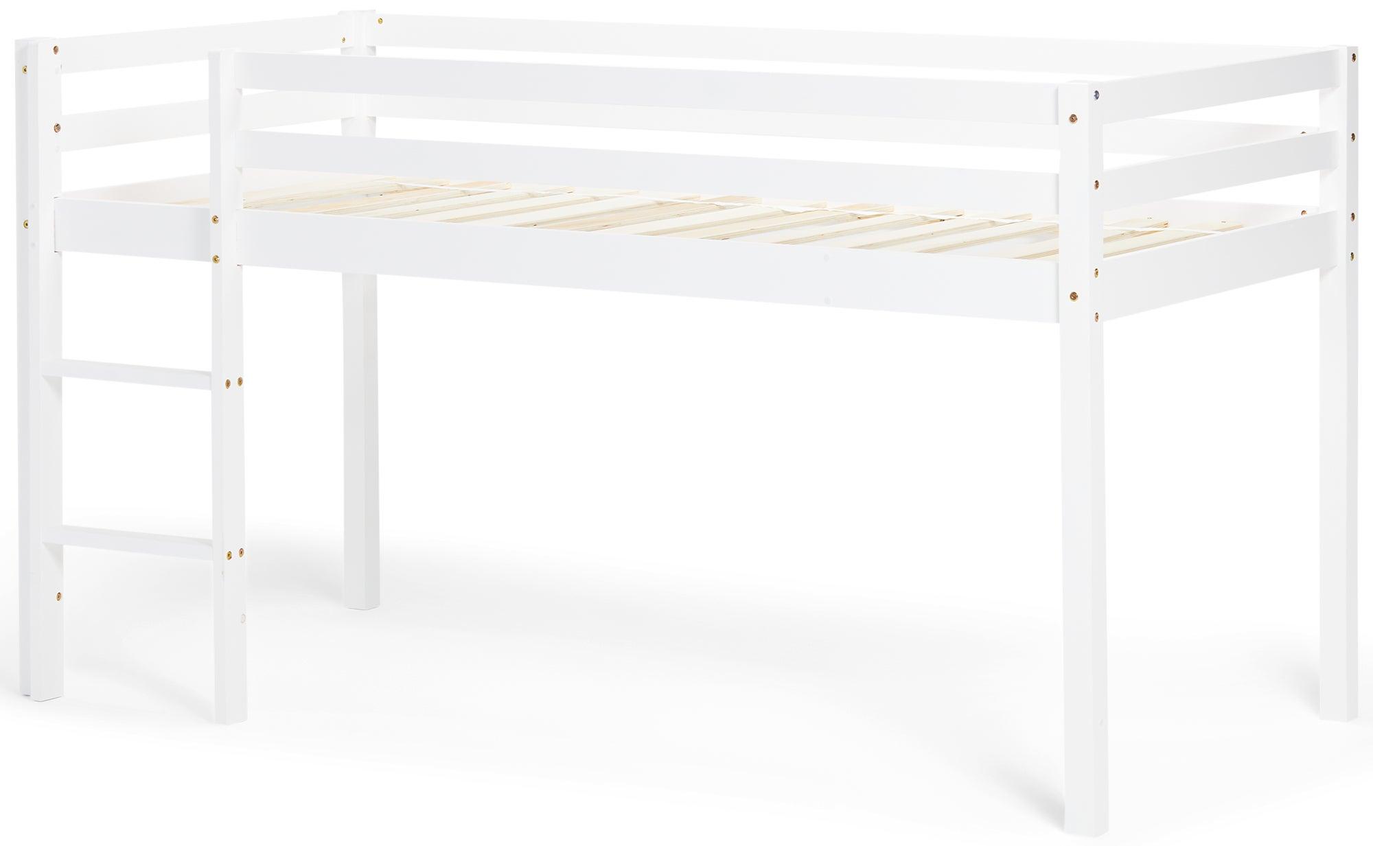 JLY Parvisänky Verholla 90x190, Valkoinen