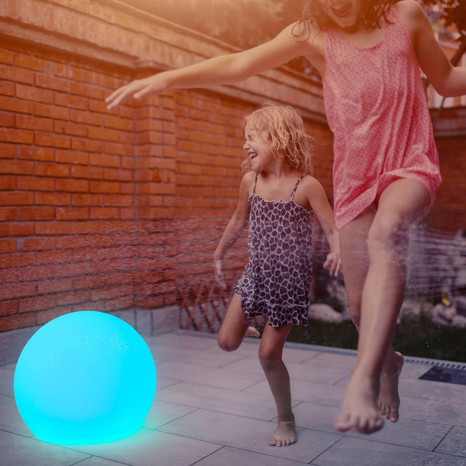 Newgarden Buly -LED-aurinkovalaisin, IP65, Ø 50 cm