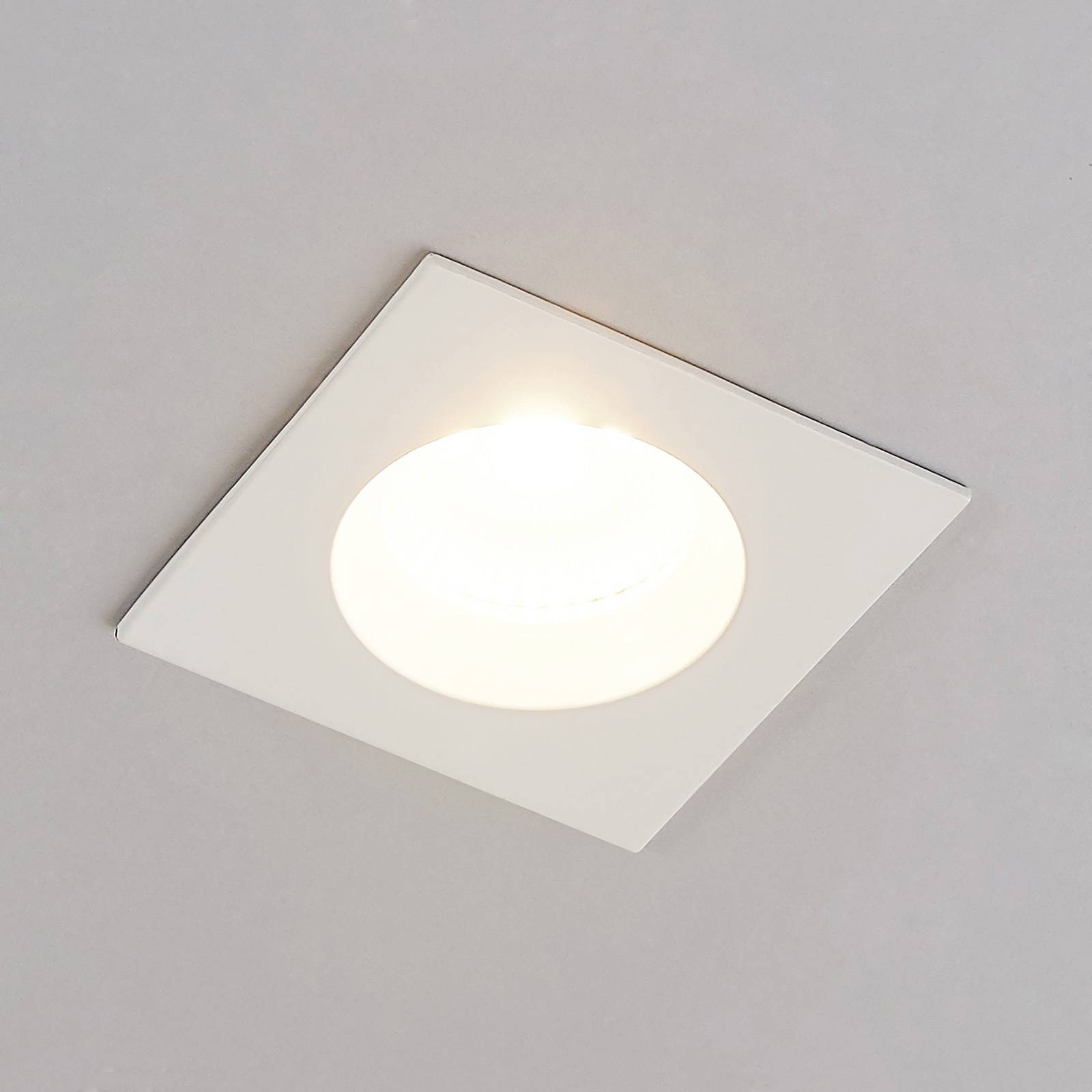Arcchio Urdin LED-kohdevalo kulmikas IP65, 8,2W