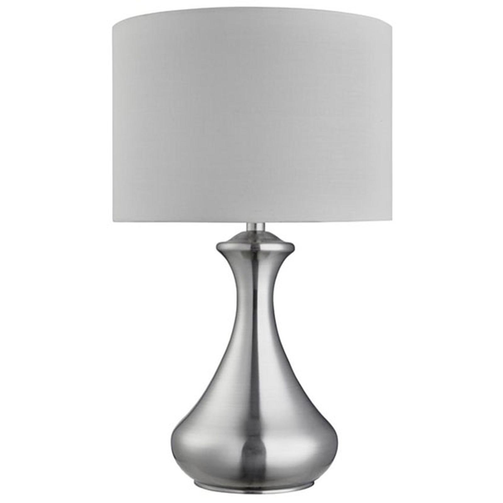 Pöytälamppu Touch 2750, hopea satiini