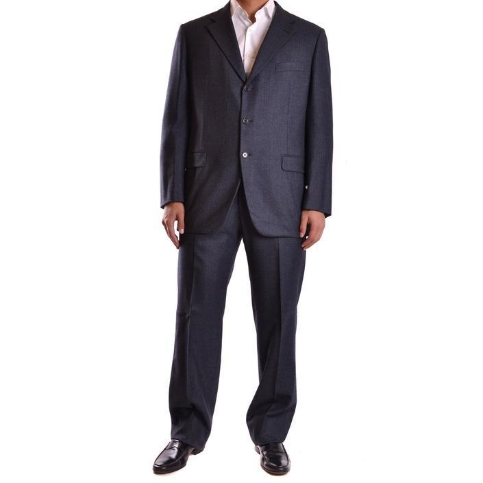 Burberry Men's Suit Grey 164023 - grey 54