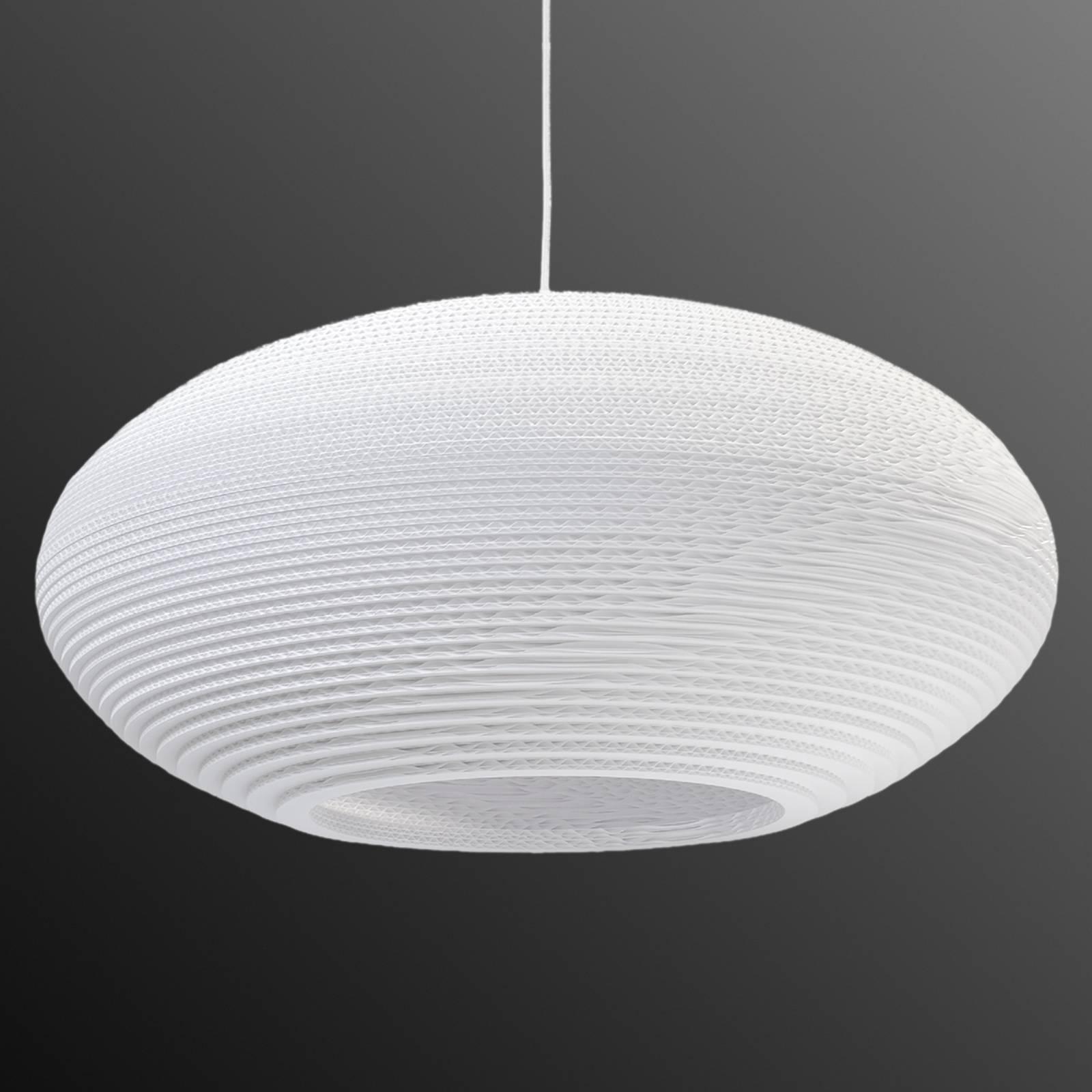 Riippuvalaisin Disc, valkoinen Ø 61 cm