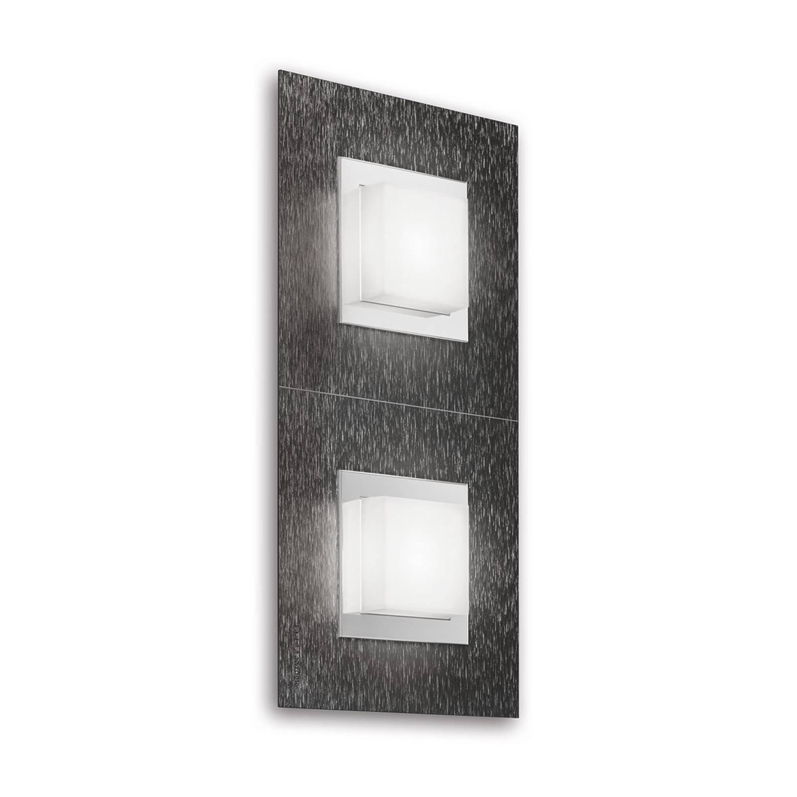 GROSSMANN Basic LED-vegglampe 2lk., antrasitt
