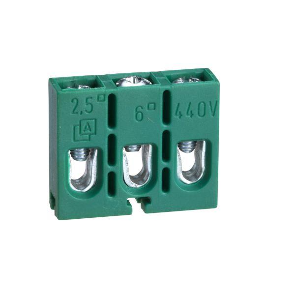 Schneider Electric IMT36089 Ruuviliitos 3x1-napainen, pintarasiaan