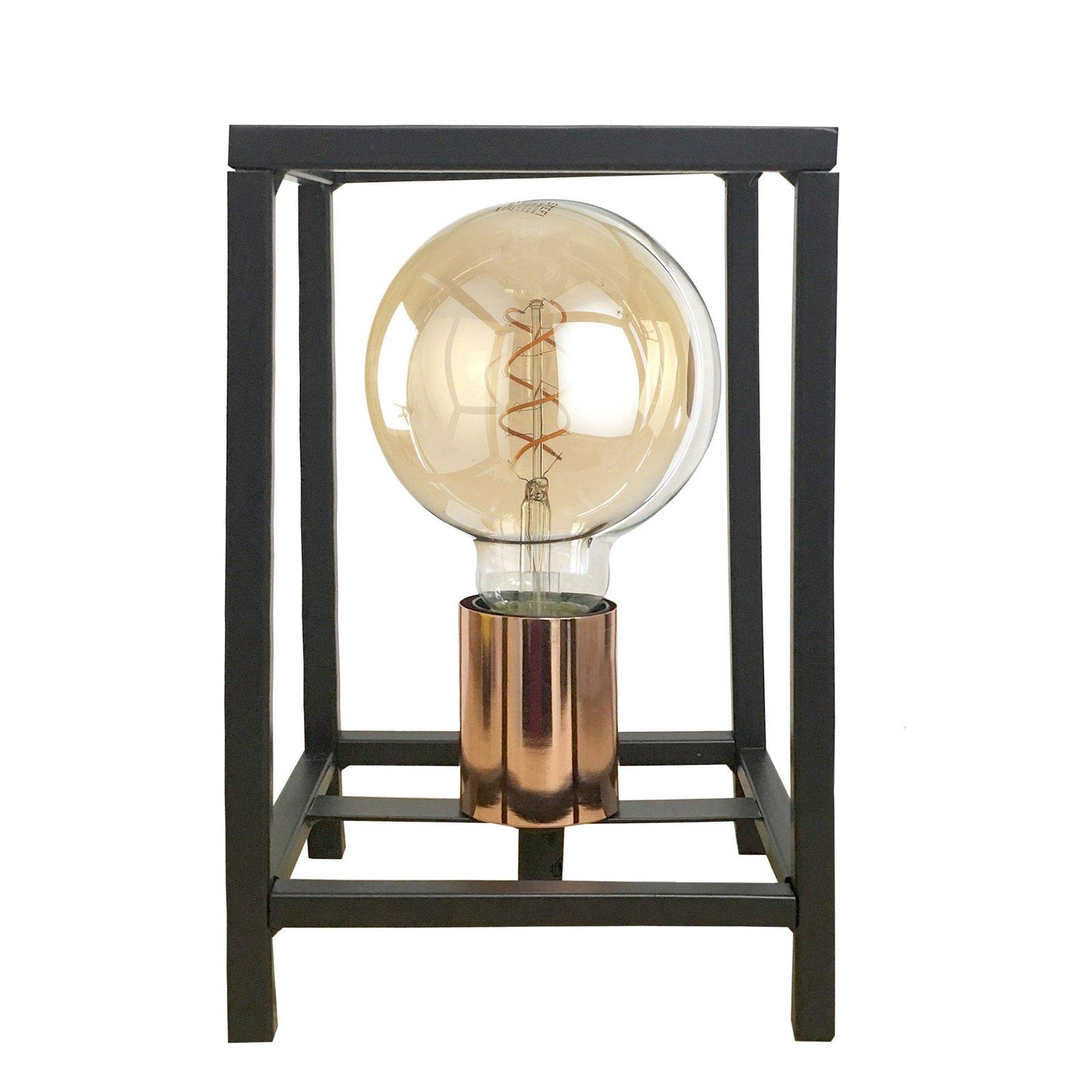 Bordlampe Floki som åpen kvadrat