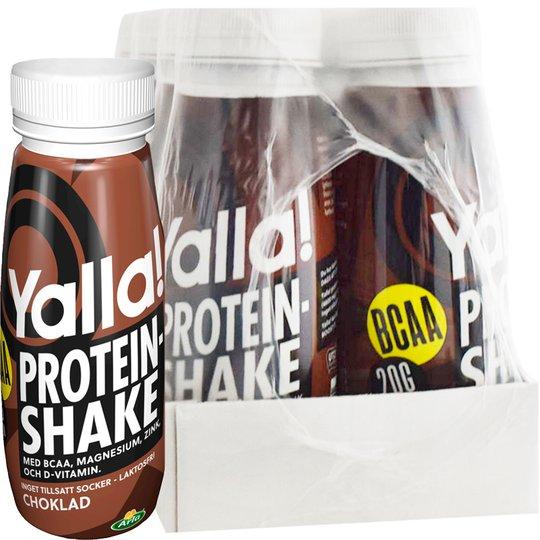 Proteinshake BCAA Choklad 8-pack - 67% rabatt