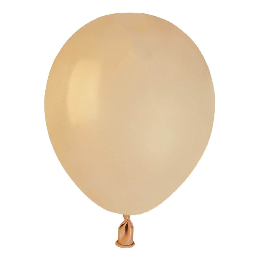 Latexballonger Blush Guld Mini - 100-pack