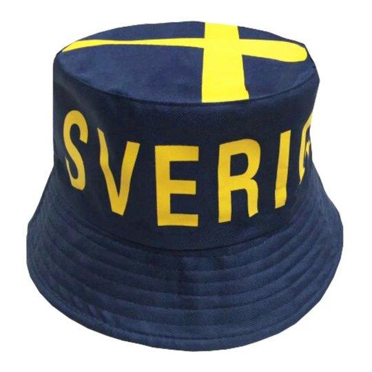 Solhatt Sverige Blå - One size