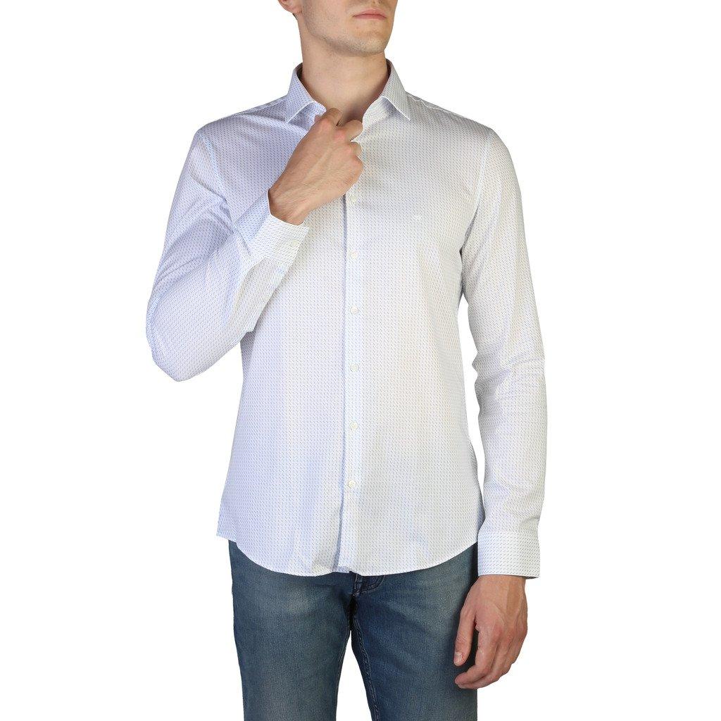 Calvin Klein Men's Shirt White K10K104128 - white 40