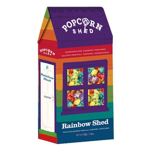 Popcorn Rainbow Shed Vanilj Karamell
