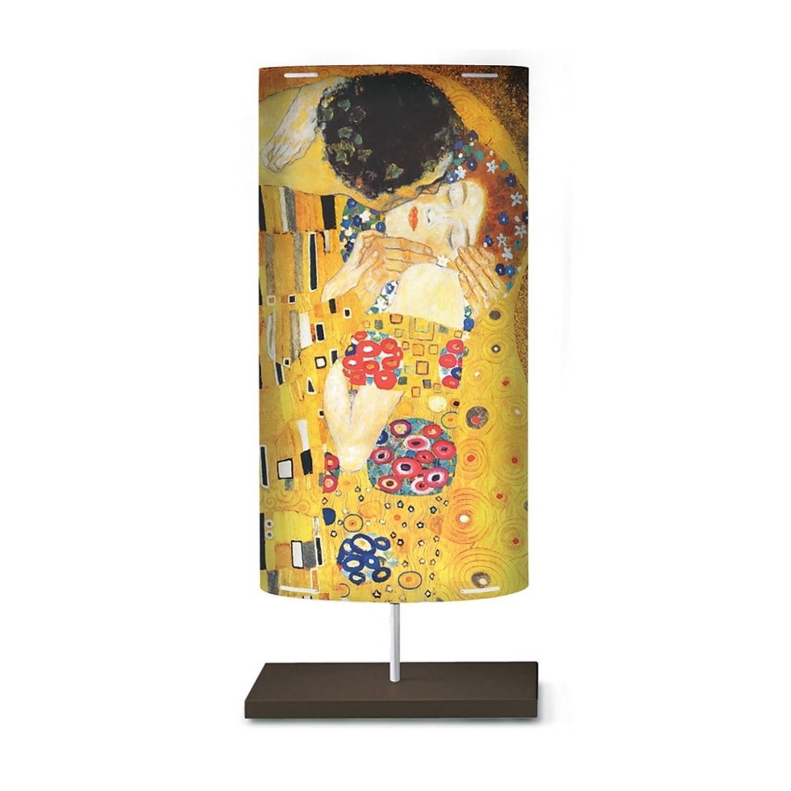 Taidekuviointi Klimt III -lattiavalaisimessa