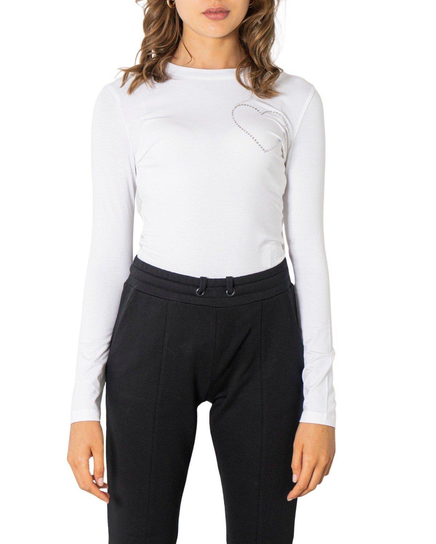 Love Moschino Women's T-Shirt Black 322021 - white 38