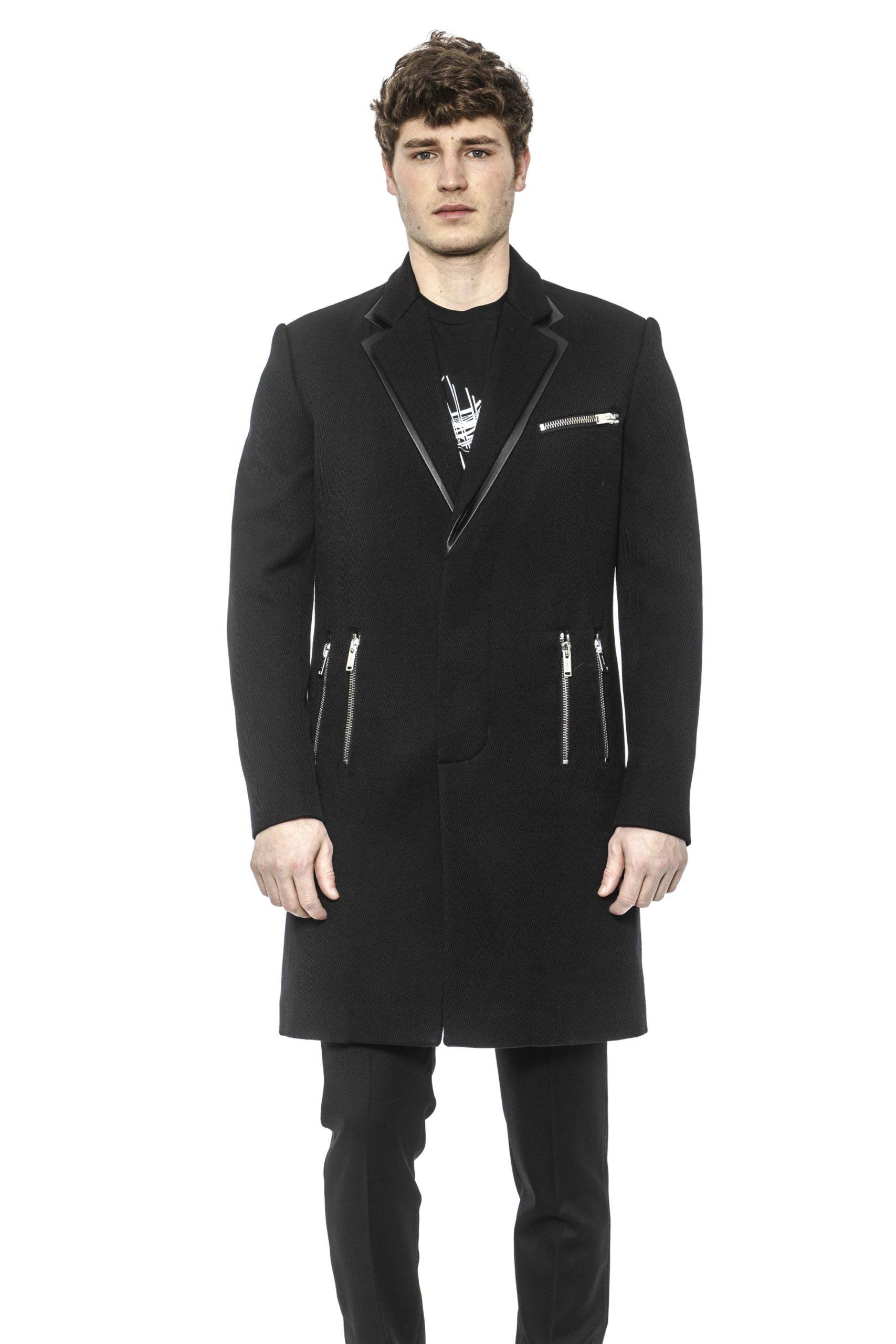 Les Hommes Men's Coat Black LE1393428 - IT50 | L