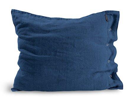 Lovely linen putetrekk – Denim blue, 50x60