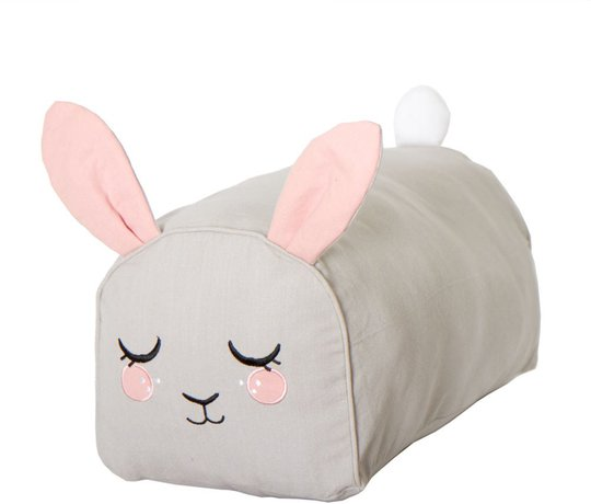 Roommate Puff Bunny, Grey