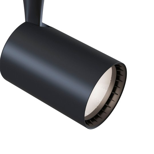 Track-kiskospotti LED 4000K musta 800lm, 12W