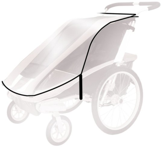 Thule Chariot Regnskydd Cougar2/CX2 2014