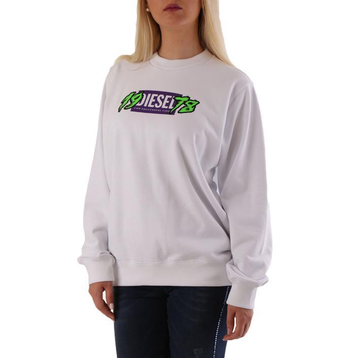 Diesel Women's Sweatshirt White 312572 - white S