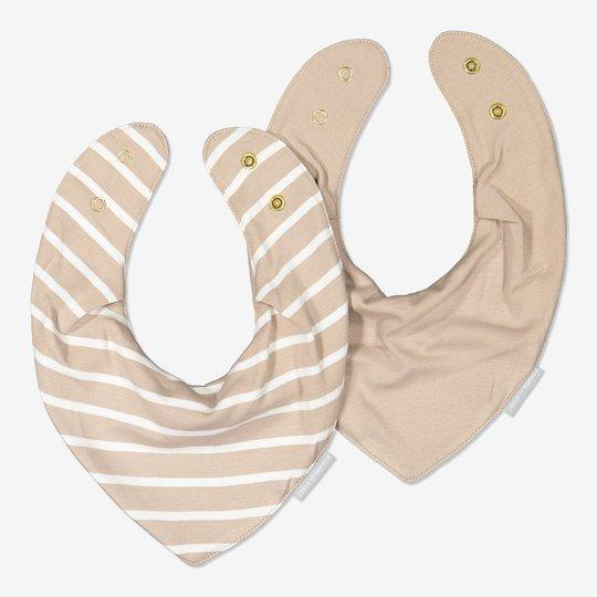 2-pakning smekker, baby beige