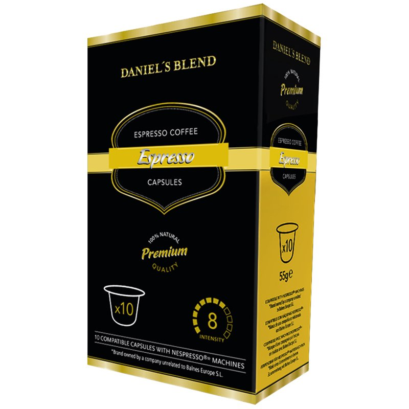 "Nespresso-kahvikapselit ""Espresso"" 10 kpl - 50% alennus"