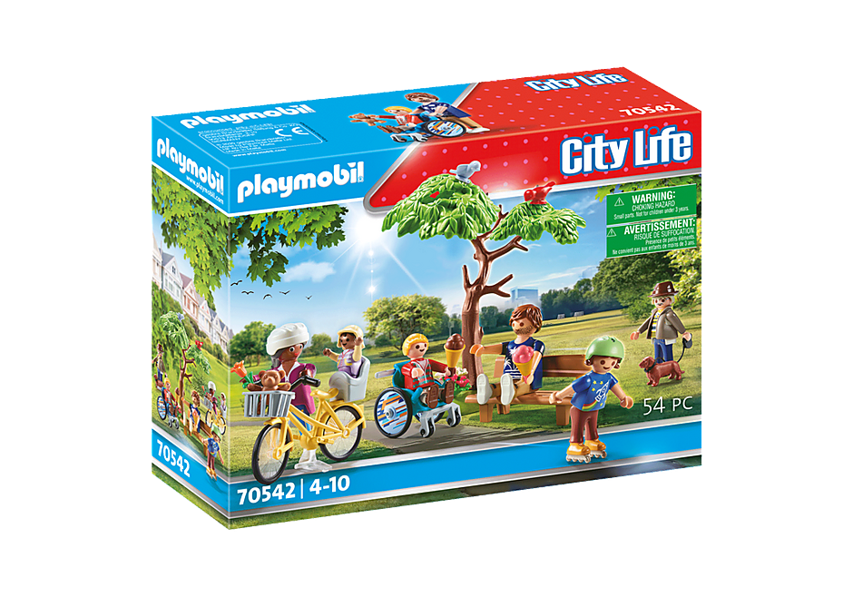 Playmobil - In the city park (70542)