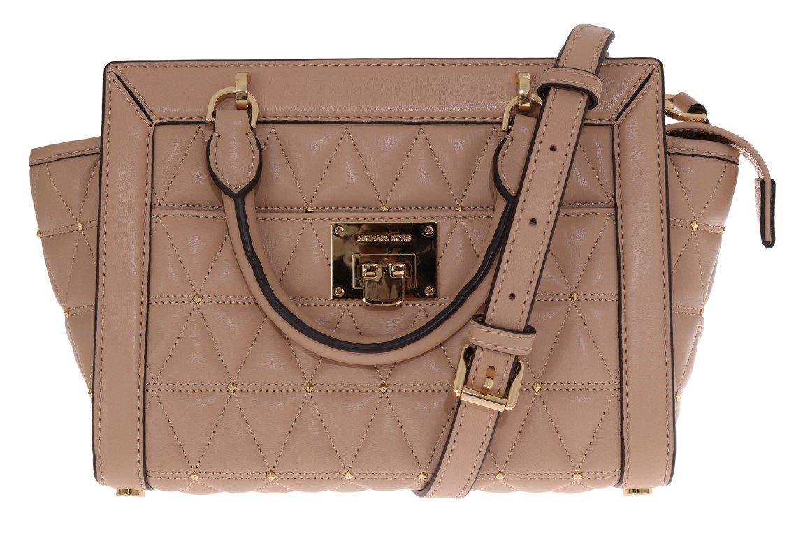 Michael Kors Women's Vivianne Shoulder Bag Beige MK5009